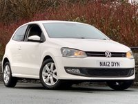 USED 2012 12 VOLKSWAGEN POLO 1.4 MATCH 3d 83 BHP