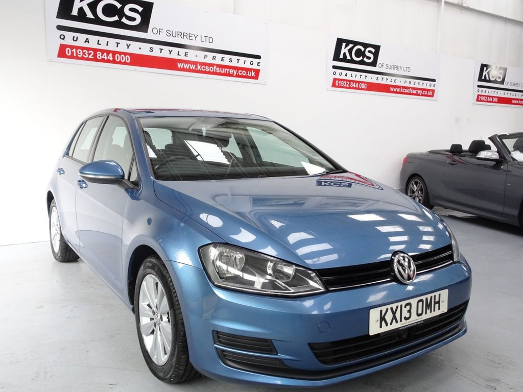 USED 2013 13 VOLKSWAGEN GOLF 2.0 SE TDI BLUEMOTION TECHNOLOGY 5d 148 BHP CAMBELT REPLACED AT VW