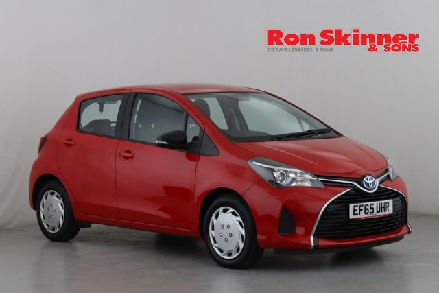 View our 2015 65 TOYOTA YARIS 1.5 VVT-I ACTIVE M-DRIVE S 5d AUTO 73 BHP