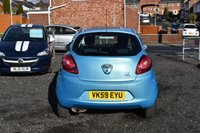 USED 2009 59 FORD KA 1.2 STYLE 3d 69 BHP 44,000 GUARANTEED MILES - LOTS OF SERVICE HISTORY - £30 ROAD TAX PER YEAR