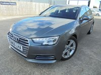 USED 2017 66 AUDI A4 2.0 AVANT TDI ULTRA SPORT 5d 148 BHP Only One Owner, FSH, Low Rate Finance Available, No Deposit Necessary, Part Exchange Welcomed