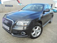 USED 2016 65 AUDI Q5 2.0 TDI QUATTRO SE 5d 187 BHP Only One Owner, FSH, Low Rate Finance Available, No Deposit Necessary, Part Exchange Welcomed