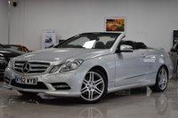 2012 MERCEDES-BENZ E-CLASS 2.1L E250 CDI BLUEEFFICIENCY SPORT 2d AUTO 204 BHP £10495.00