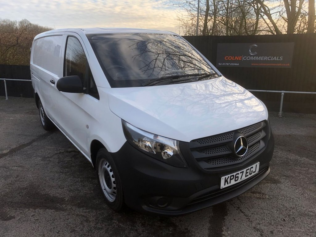 USED 2017 67 MERCEDES-BENZ VITO 1.6CDI 111 LWB (EURO 6)(115 PS)