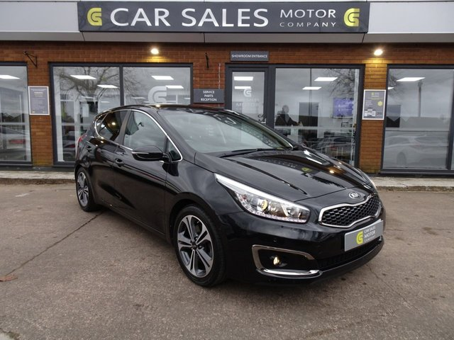 USED 2017 17 KIA CEED 1.6 CRDI 3 ISG 5d 134 BHP FULL KIA SERVICE HISTORY, 5 YEAR WARRANTY REMAINING, REVERSE CAMERA, DAB RADIO, BLUETOOTH, 5 STAR RATED DEALERSHIP - BUY WITH CONFIDENCE!