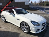 2012 MERCEDES-BENZ SLK 1.8 SLK200 BLUEEFFICIENCY AMG SPORT 2d 184 BHP £11995.00