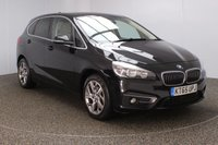 USED 2016 65 BMW 2 SERIES ACTIVE TOURER 2.0 218D LUXURY ACTIVE TOURER 5DR AUTO SAT NAV 1 OWNER 148 BHP FULL BMW SERVICE HISTORY + £20 12 MONTHS ROAD TAX + LEATHER SEATS + SATELLITE NAVIGATION + PARK ASSIST + PARKING SENSOR + BLUETOOTH + CRUISE CONTROL + CLIMATE CONTROL + MULTI FUNCTION WHEEL + DAB RADIO + ELECTRIC WINDOWS + RADIO/CD/AUX/USB + ELECTRIC MIRRORS + 17 INCH ALLOY WHEELS