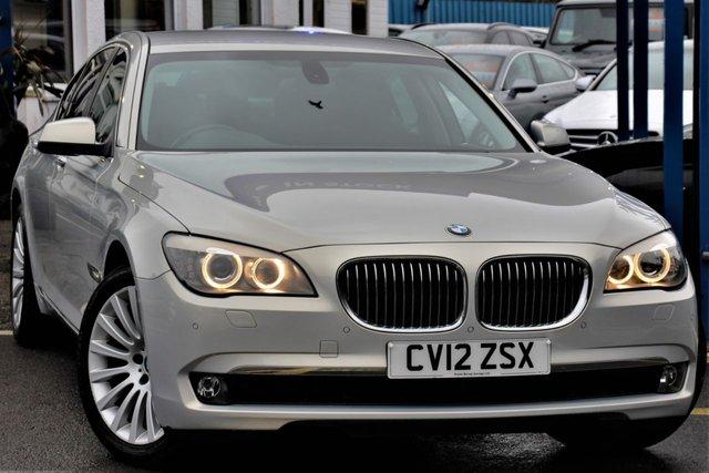 2012 12 BMW 7 SERIES 3.0 730D SE LUXURY EDITION 4d 242 BHP