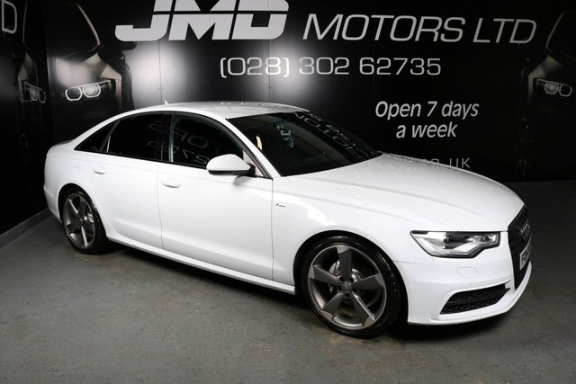 2014 14 AUDI A6 LATE 2014 AUDI A6 2.0 TDI ULTRA S LINE BLACK EDITION AUTO 188 BHP (FINANCE AND WARRANTY)