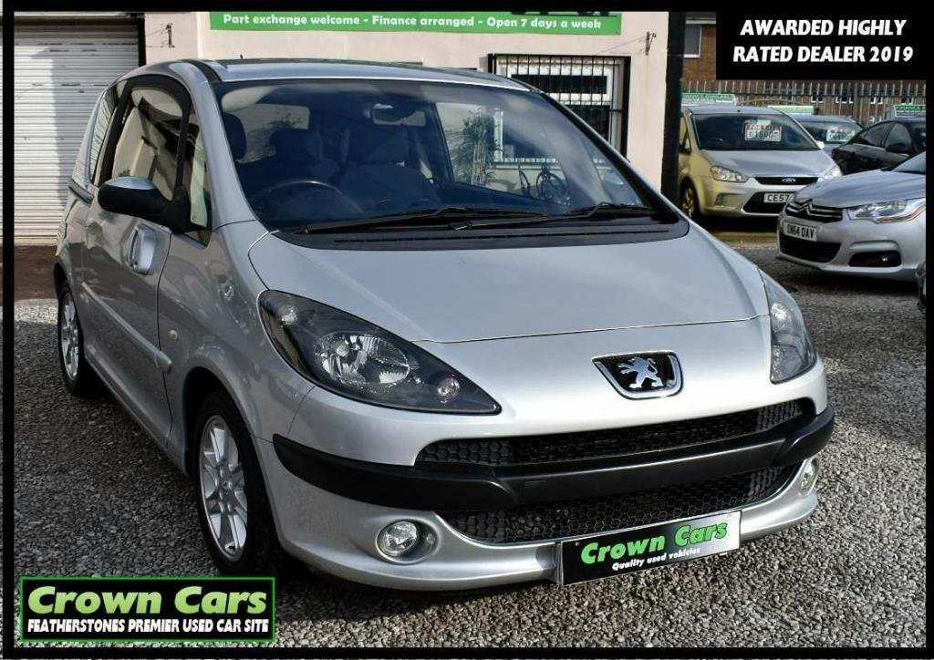 USED 2006 06 PEUGEOT 1007 1.6 16v Sport 3dr RESERVE TODAY VIEW LATER