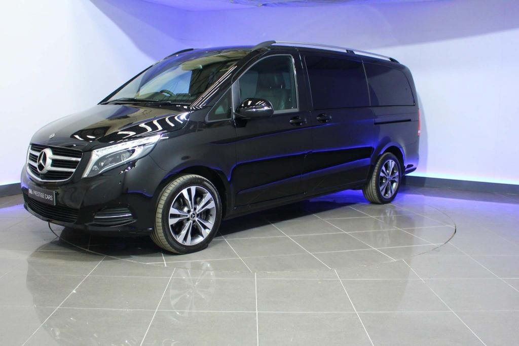 USED 2018 68 MERCEDES-BENZ V-CLASS 2.2 V220d Sport G-Tronic+ LWB EU6 (s/s) 5dr 8 Seat LWB 360CAMERA ELECTRIC FRONT SEATS
