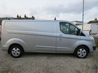 USED 2015 15 FORD TRANSIT CUSTOM 290 LIMITED 2.2TDCi 125PS L2 H1 LWB VAN WITH ROOF BARS 125PS ENGINE - HIGH SPEC!