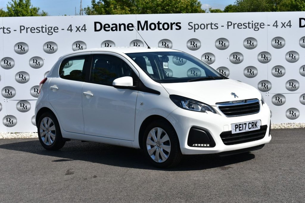 USED 2017 17 PEUGEOT 108 1.0 ACTIVE 5d 68 BHP GREAT FIRST CAR