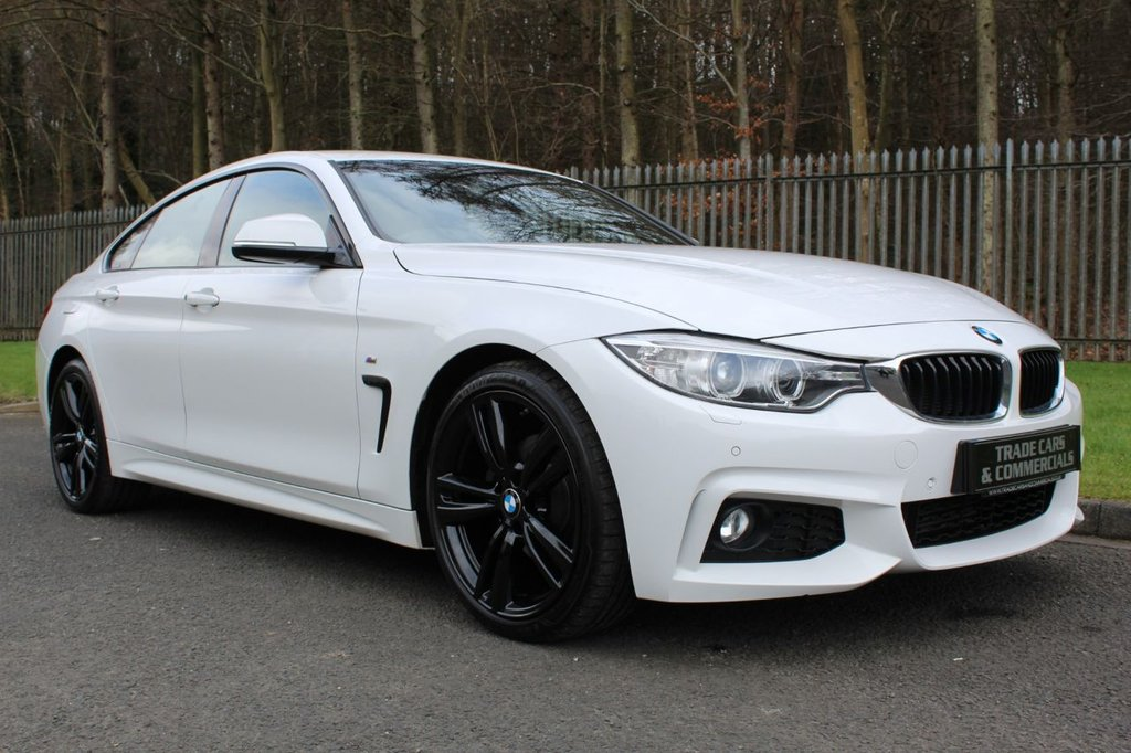 USED 2015 65 BMW 4 SERIES 2.0 420D M SPORT GRAN COUPE 4d 188 BHP A STUNNING LOW OWNER 420D WITH GREAT SPEC AND BMW HISTORY!!!