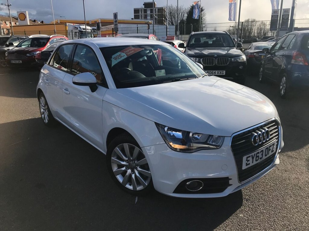 USED 2013 63 AUDI A1 1.4L SPORTBACK TFSI SPORT 5d 122 BHP RAC APPROVED ONLY 20000 MILES!