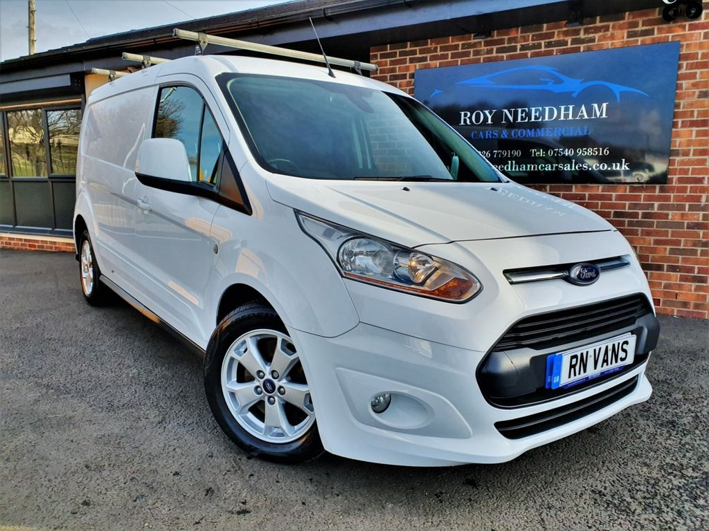 USED 2014 64 FORD TRANSIT CONNECT 1.6 240 LIMITED P/V 114 BHP *** FSH - REVERSE CAM - CRUISE ***