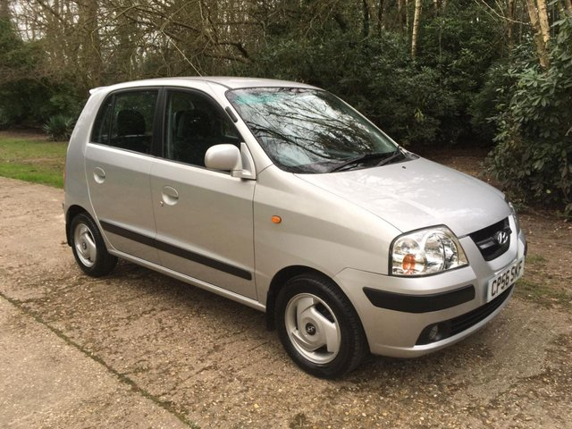 USED 2007 56 HYUNDAI AMICA 1.1 CDX 5d 63 BHP AUTOMATIC VERY LOW MILEAGE FINANCE ME TODAY-PX  & UK DELIVERY POSSIBLE