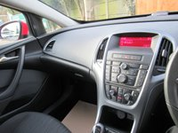 USED 2014 64 VAUXHALL ASTRA 1.4 GTC SPORT S/S 3d 118 BHP FSH, 1 OWNER, CRUISE CONTROL
