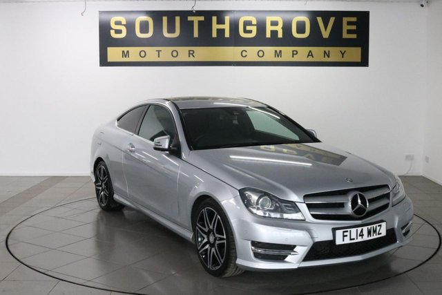 USED 2014 14 MERCEDES-BENZ C CLASS 1.6 C180 BLUEEFFICIENCY AMG SPORT PLUS 2d 154 BHP