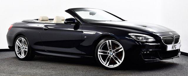USED 2015 15 BMW 6 SERIES 3.0 640d M Sport Auto (s/s) 2dr M Sport Plus Pack, F/BMW/S/H +