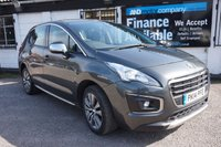 USED 2014 14 PEUGEOT 3008 1.6 HDI ACTIVE 5d 115 BHP Full History 5 Stamps, Bluetooth, Rear Parking Aid