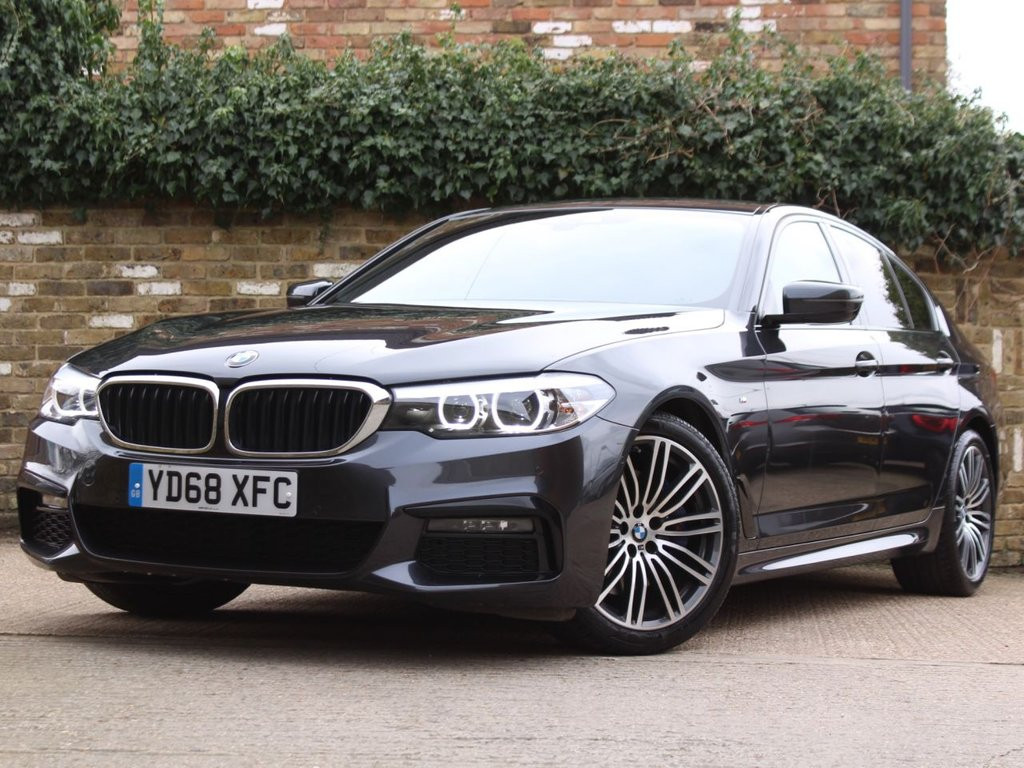USED 2018 68 BMW 5 SERIES 3.0 530D M SPORT 4d 261 BHP