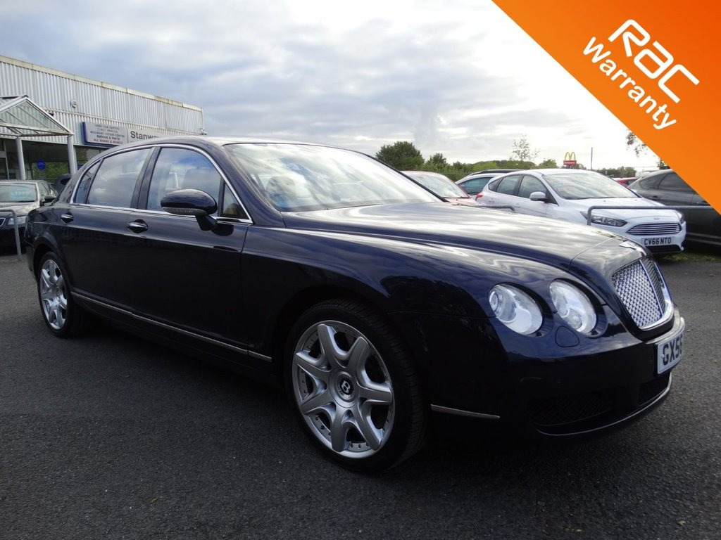 USED 2006 56 BENTLEY CONTINENTAL FLYING SPUR 6.0 FLYING SPUR 5 SEATS 4d 550 BHP FULL BENTLEY HISTORY 13 STAMPS