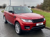 USED 2014 14 LAND ROVER RANGE ROVER SPORT 3.0 SDV6 HSE DYNAMIC 5d 288 BHP RED LEATHER, LAND ROVER HISTORY