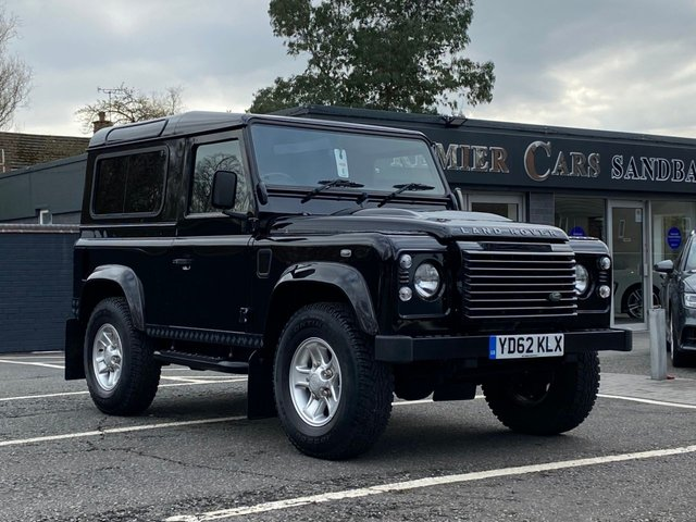 USED 2012 62 LAND ROVER DEFENDER 90 2.2 TD XS STATION WAGON 3d 122 BHP