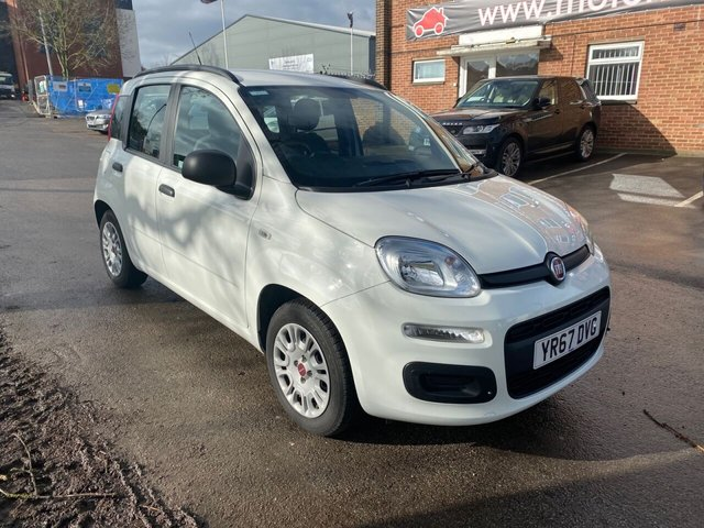 USED 2017 67 FIAT PANDA 1.2 EASY 5d 69 BHP STUNNING 1 OWNER LOW MILEAGE VEHICLE WITH FULL SERVICE HISTORY, TWO KEYS, REMOTE CENTRAL LOCKING, ELECTRIC WINDOWS, CITY STEERING BUTTON, RADIO/CD