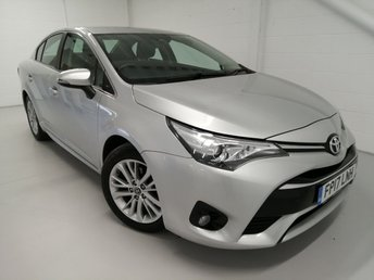 2017 TOYOTA AVENSIS 1.6 D-4D BUSINESS EDITION 4d 110 BHP £10690.00
