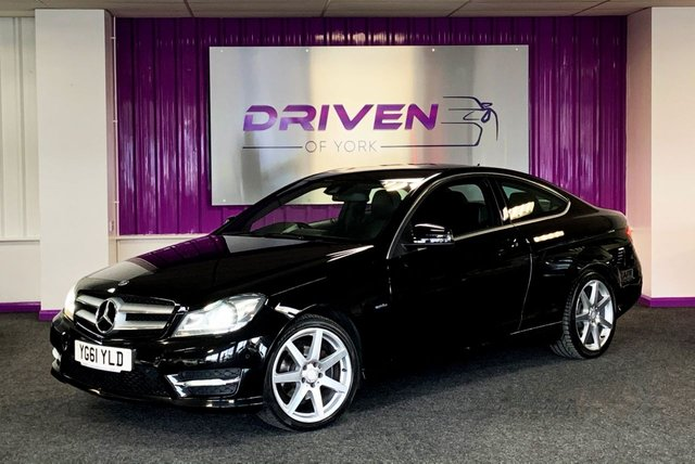 2011 L MERCEDES-BENZ C-CLASS 2.1 C220 CDI BLUEEFFICIENCY AMG SPORT ED125 2d 170 BHP