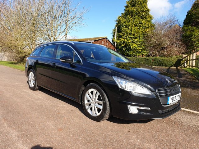 USED 2012 12 PEUGEOT 508 2.0 HDI SW ACTIVE 5d 140 BHP **MOT**FULL SERVICE HISTORY**LOVELY CLEAN CAR**GREAT SPEC**