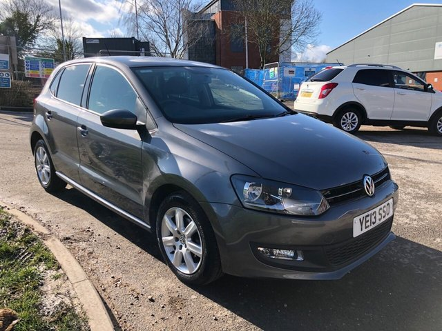 USED 2013 13 VOLKSWAGEN POLO 1.2 MATCH EDITION 5d 59 BHP EXCELLENT EXAMPLE WITH SERVICE HISTORY, ALLOY WHEELS, RADIO/CD/AUX/USB, CRUISE CONTROL, AIR CONDITIONING
