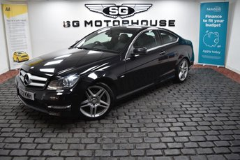 2012 MERCEDES-BENZ C CLASS 2.1 C220 CDI BLUEEFFICIENCY AMG SPORT 2d 170 BHP £9485.00