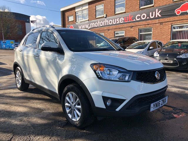 USED 2016 16 SSANGYONG KORANDO 2.0 SE 5d 147 BHP EXCELLENT EXAMPLE WITH SERVICE HISTORY, ALLOY WHEELS, RADIO/CD/AUX/USB, CRUISE CONTROL, AIR CONDITIONING