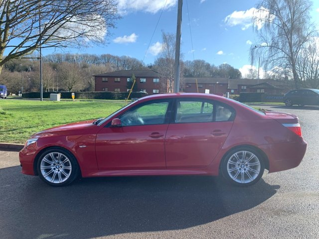 USED 2009 59 BMW 5 SERIES 2.0 520D M SPORT BUSINESS EDITION 4d 175 BHP  EXCELLENT M SPORT EXAMPLE WITH ALLOY WHEELS, CRUISE CONTROL, CLIMATE CONTROL, ELECTRIC WINDOWS,