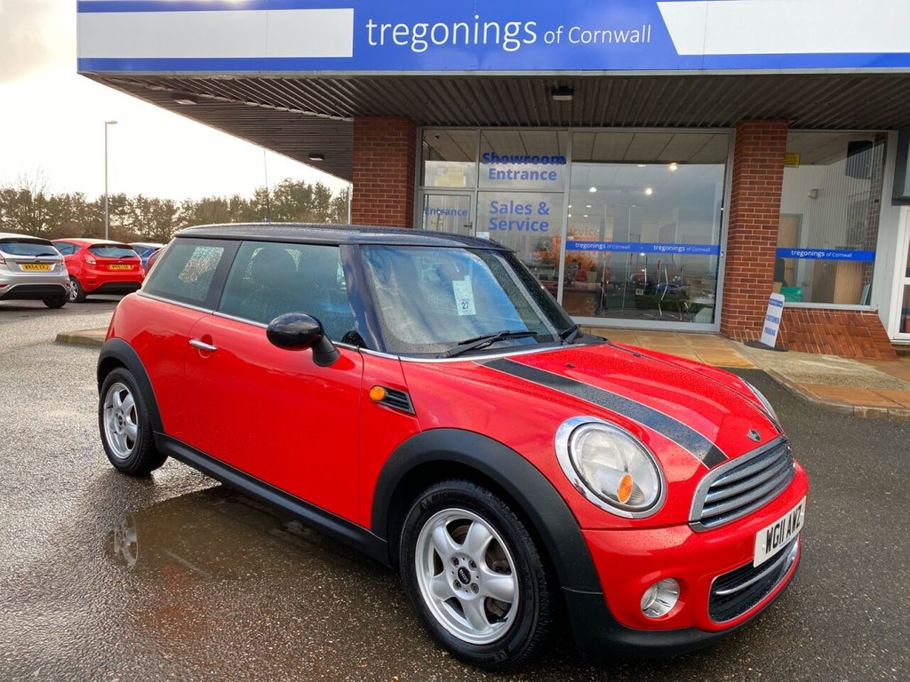 USED 2011 11 MINI HATCH 1.6L COOPER 3d 122 BHP