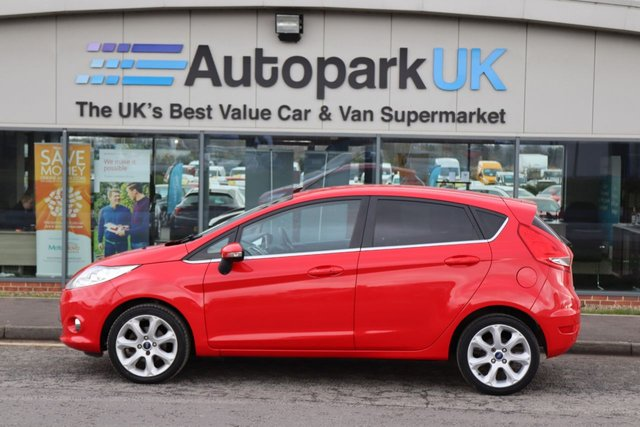USED 2010 60 FORD FIESTA 1.6 TITANIUM 5d 118 BHP LOW DEPOSIT OR NO DEPOSIT FINANCE AVAILABLE