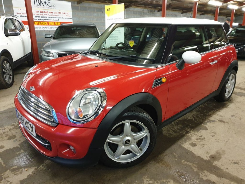 USED 2011 61 MINI HATCH COOPER 1.6 COOPER D 3d 112 BHP +++ZERO ROAD TAX MODEL+++