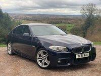 2011 BMW 5 SERIES 2.0 520D M SPORT 4d 181 BHP £8985.00