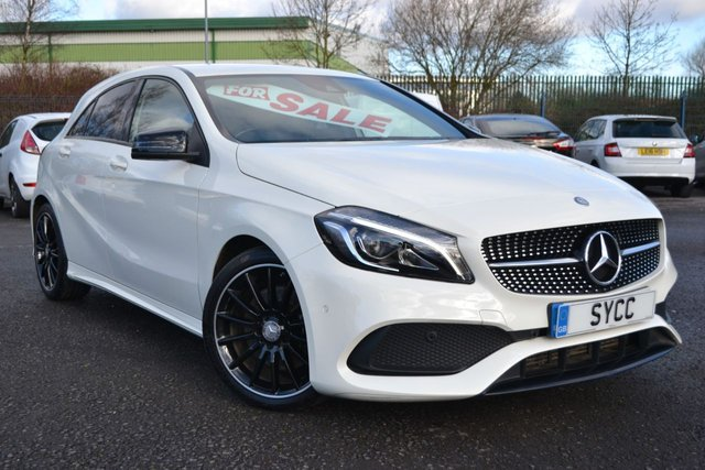 USED 2016 66 MERCEDES-BENZ A-CLASS 2.1 A 220 D AMG LINE PREMIUM 5d 174 BHP ~ HUGE SPECIFICATION HUGE SPECIFICATION ~ APPLE CAR PLAY ~ COMMAND SAT NAV