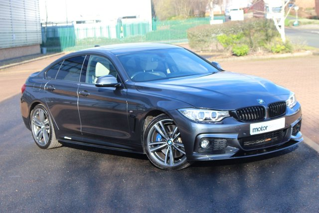 USED 2017 66 BMW 4 SERIES 3.0 440I M SPORT GRAN COUPE 4d 322 BHP