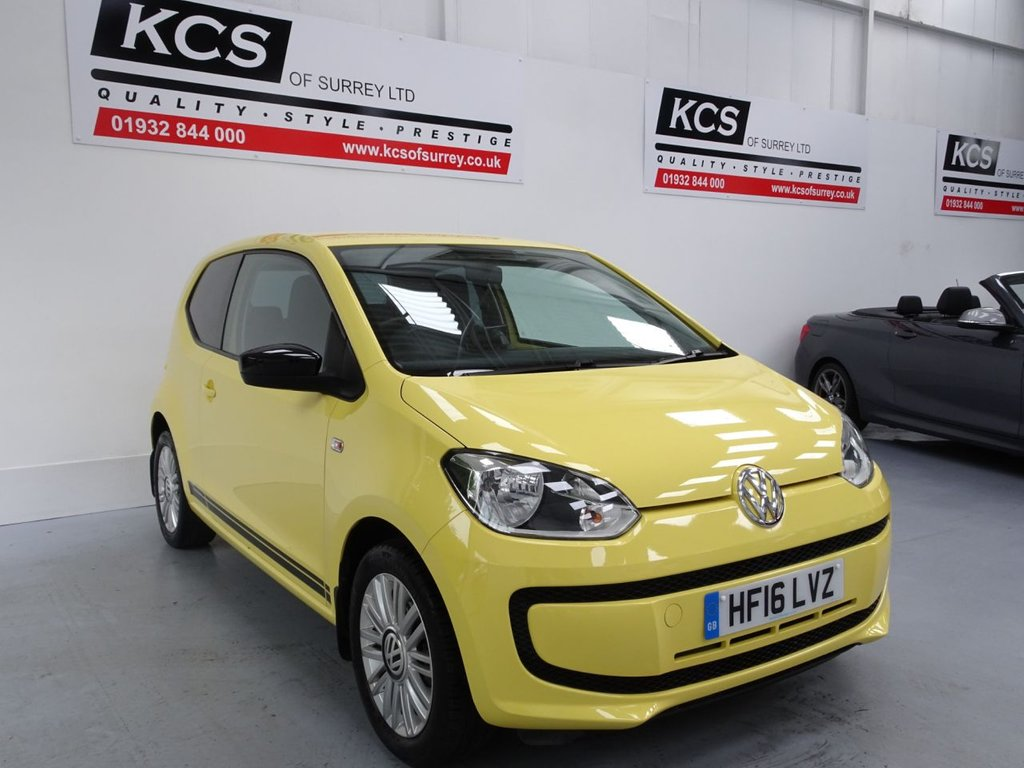 USED 2016 16 VOLKSWAGEN UP 1.0 LOOK UP 3d 59 BHP NAVIGATION SYSTEM - BLUETOOTH