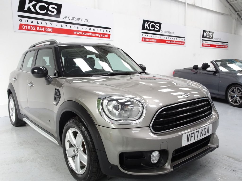 USED 2017 17 MINI COUNTRYMAN 2.0 COOPER D ALL4 5d 148 BHP 4WD-SAT NAV-PAN ROOF-LEATHER