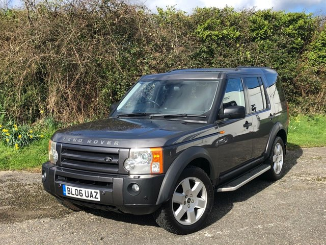 USED 2006 06 LAND ROVER DISCOVERY 2.7 3 TDV6 HSE 5d 188 BHP 7 SEATS, LOW MILEAGE 4WD DIESEL AUTOMATIC.MANY EXTRAS FINANCE & DELIVERY POSSIBLE.