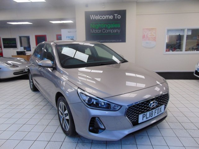 "USED 2018 18 HYUNDAI I30 1.6 CRDI SE 5d 109 BHP FULL HISTORY + LOW MILES + CRUISE CONTROL + CLIMATE CONTROL + BLUETOOTH + RDS STEREO + 16"" ALLOYS 8"" TOUCHSCREEN INFO SYSTEM +REMOTE CENTRAL LOCKING + ELECTRIC WINDOWS + LANE DEPARTURE WARNING SYSTEM + ISOFIX + SPARE WHEEL"