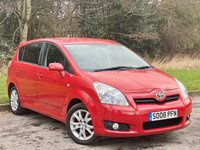 USED 2008 08 TOYOTA COROLLA 1.8 VERSO SR VVT-I 5d FANTASTIC VALUE FOR MONEY 7 SEATER