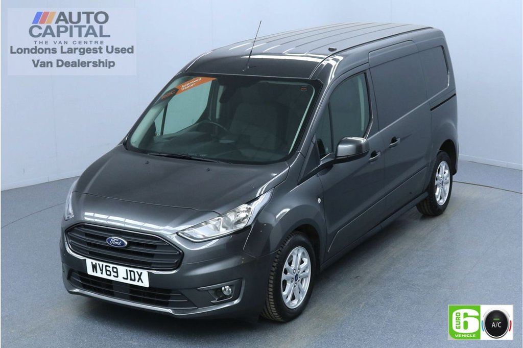 USED 2019 69 FORD TRANSIT CONNECT 1.5 240 Limited 120 BHP Auto L2 LWB 3 Seats Euro 6 Low Emission Finance Packages Available | Keyless | Air Con | Sensors | Alloy wheels | Auto Start-Stop system
