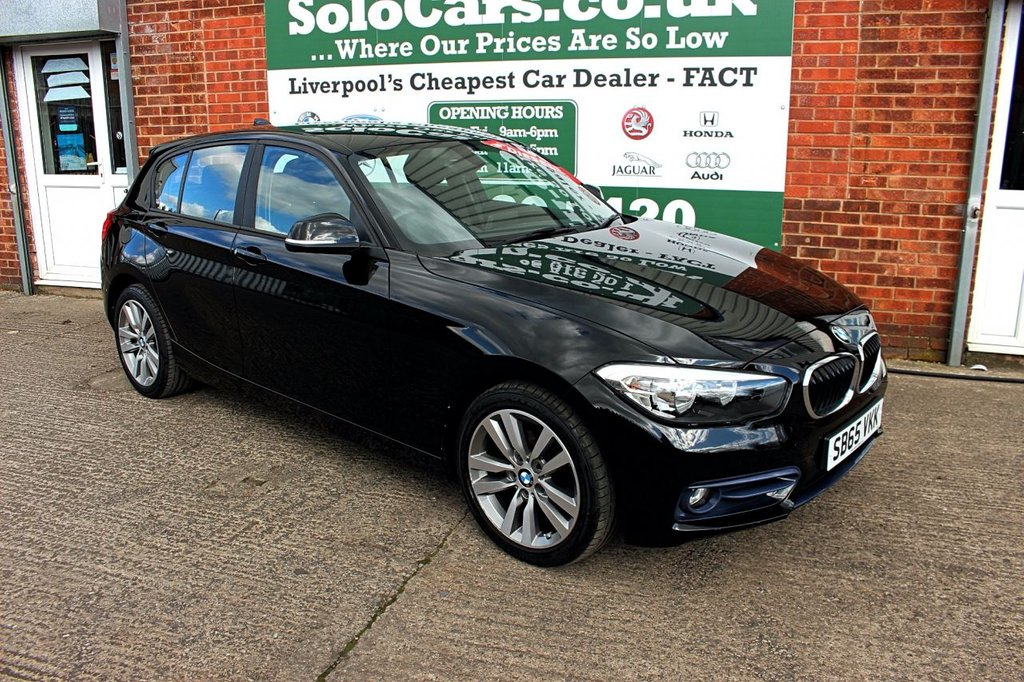 USED 2015 65 BMW 1 SERIES 1.5 116D SPORT 5d 114 BHP +BLUETOOTH +LOW TAX +SAT NAV.